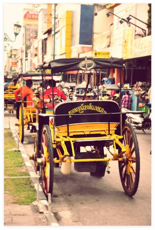 Malioboro street, DI Yogyakarta - Indonesia