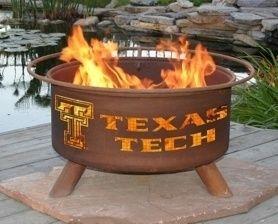 Texas Tech Collegiate Fire Pit Grill ,
