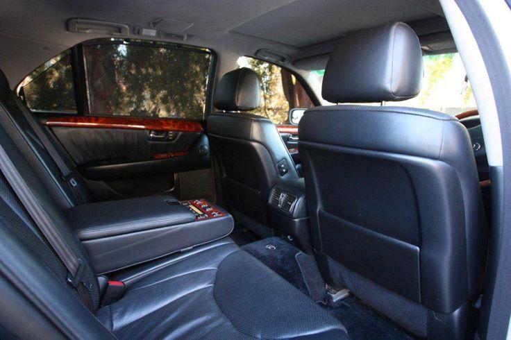 Lexus Ls430 Interior, Luxury Leather Seats & roomy interior #BrisbaneAirportTransfers #CorporateSedansBrisbane #BrisbaneCorporateCars #LimoHireBrisbane