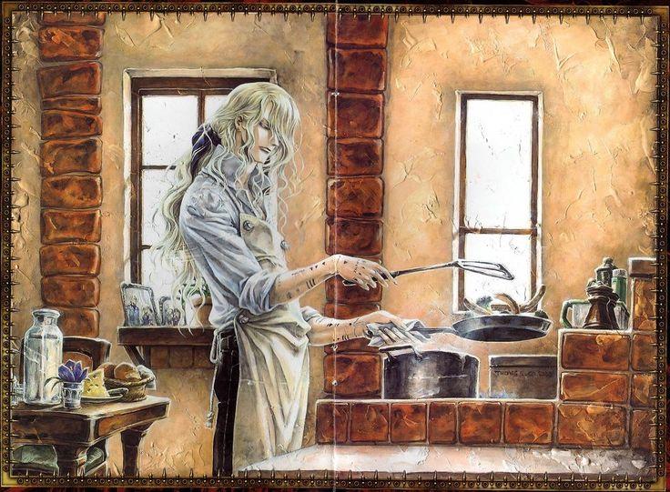 Hugue de Watteau - Trinity Blood Wiki