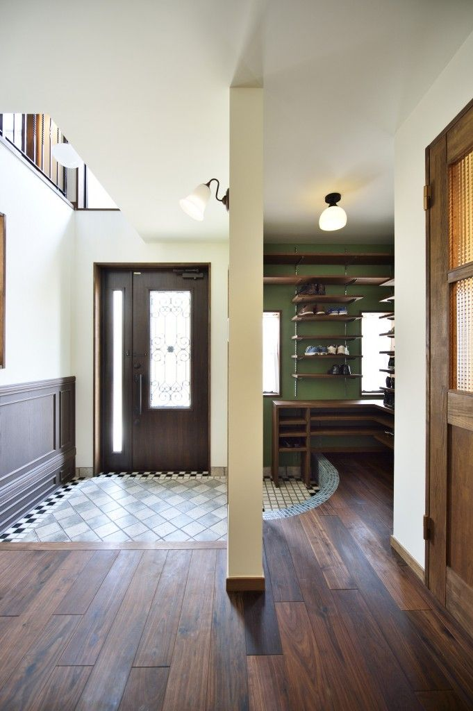 アンティーク レトロな新築のお家の撮影写真が届きました Lohas