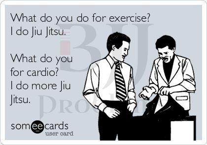 What do you cross train to make your Jiu-Jitsu better?  More Jiu-Jitsu.  Word.