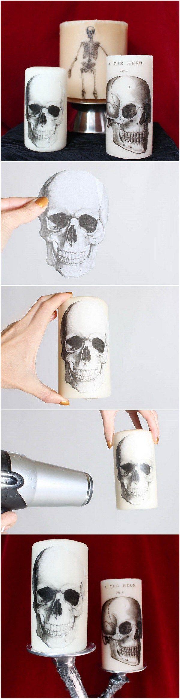 20 creative diy halloween decor ideas - Diy Indoor Halloween Decorations