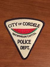 Cordele Georgia Old Style Police Patch