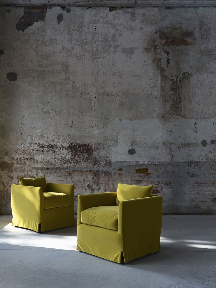 Need some greenery inspiration? Check out these perfect match chairs from Lee Industries. Need more ideas? Our latest blog has some great, simple design tips to highlight the Color of the Year in your home. http://www.ciaointeriors.com/greenery-natures-neutral/
