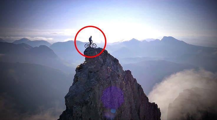 Amit ez a srác leművel a hegyekben a kétkerekűjével, az egyszerre fantasztikus és félelmetes! Akár szereted a biciklizést, akár nem, ettől a videótól elakad a szavad!