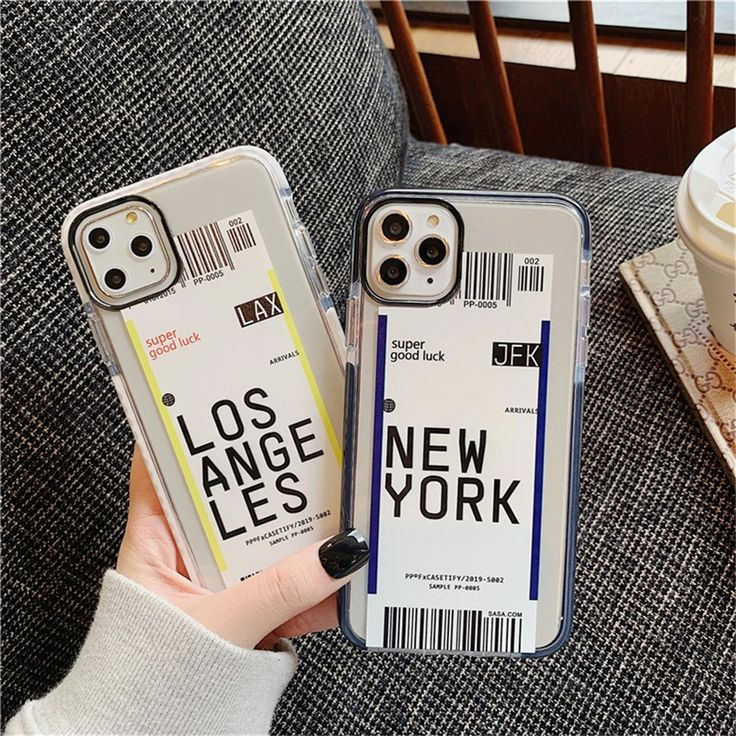 Airplane ticket phone case for iphone 11 pro xs max xr x 8