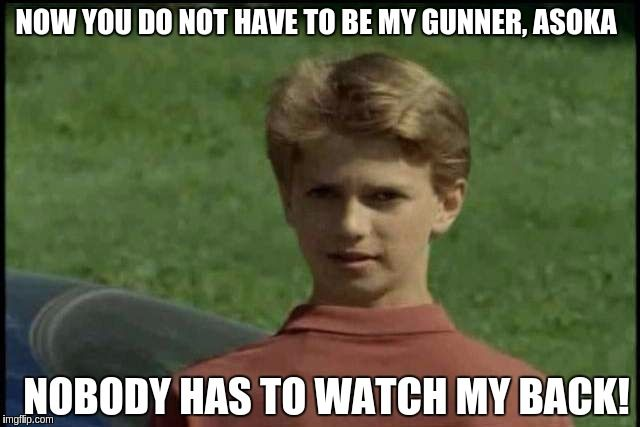 Young Anakin was an actor in Goosebumps