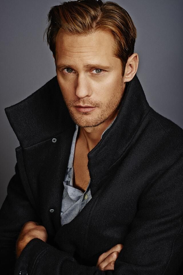 """Alexander Skarsgard-=the hottest man on the planet. I am convinced that when Jesus comes back to earth he will come back looking exactly like this because this is sheer perfection. As Justin Timberlake once said...""""God must have spent a little more time on you.."""""""