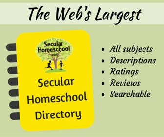 SecularHomeschool.com has updated their homeschool curriculum directory with options for ratings and reviews!