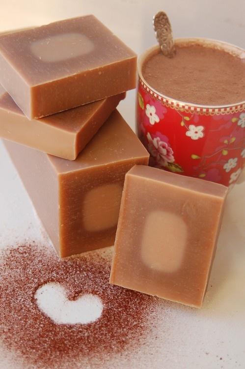 Hot chocolate - handmade creamy soap - Denmark