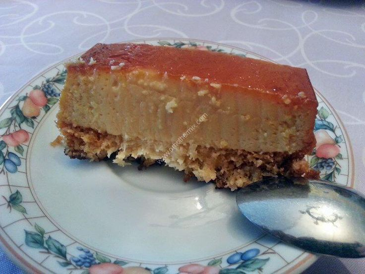 Gateau biscuit flan