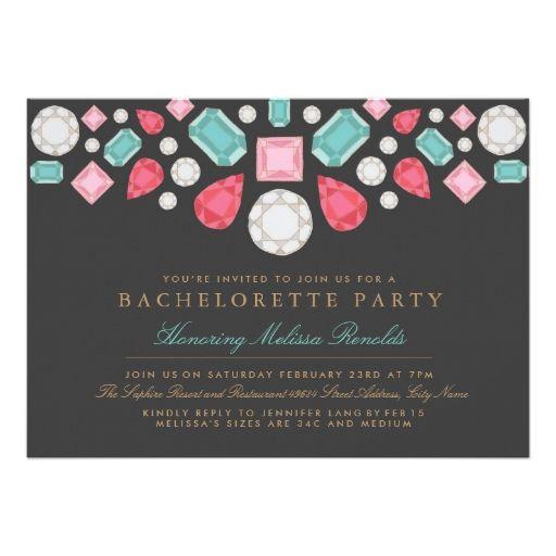 bachelorette invite