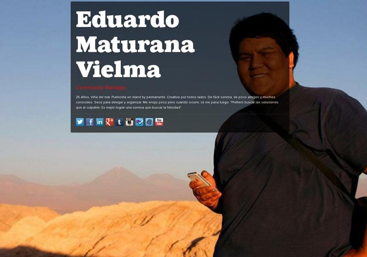 Eduardo Maturana Vielma's page on about.me – http://about.me/donedox