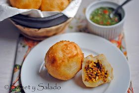 Sweet y Salado: Colombian Papas Rellenas (Stuffed Potatoes)