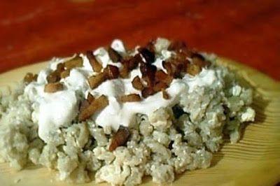 Receptek, és hasznos cikkek oldala: Egy igazi felvidéki étel: így készíts nyögőt (sztrapacskát) nagymama módra!