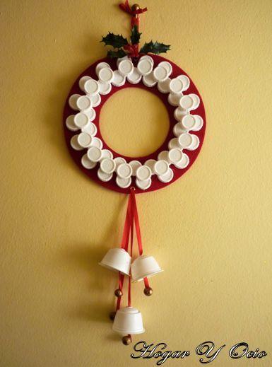 M s de 1000 ideas sobre como hacer esferas navide as en - Trabajos manuales navidenos ...