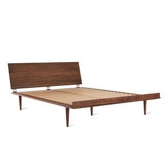 <3 American Modern Bed in Walnut