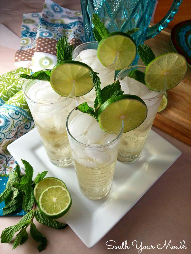 Mandy S Mojitos Recipe Drink Up Mojito Drinks Simple Syrup