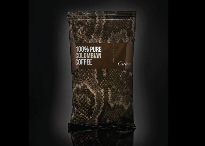 brand di lusso per produrre virtuali packaging per cibo