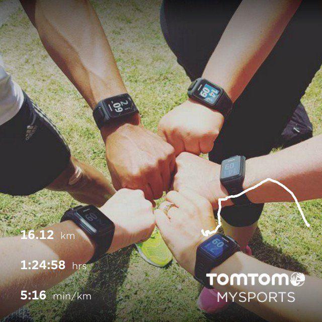 TomTom MySports Sharing