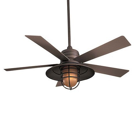 Fairhaven Indoor/Outdoor Ceiling Fan, this would be amazing outside on days like today!!!!!!