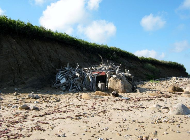 The driftwood fort on block island..it was destroyed during superstorm Sandy but I hear its being rebuilt.