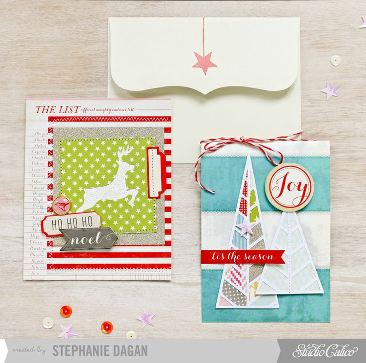 Christmas cards by cleosmum at @Studio_Calico
