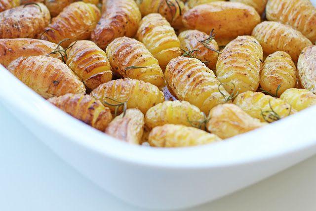 Πατάτες Baby με Λεμόνι και Δεντρολίβανο