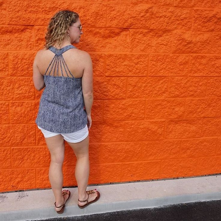 Thanks for showing off the back detail @stitchfix_nista! We are so glad you love this top as much as we do.