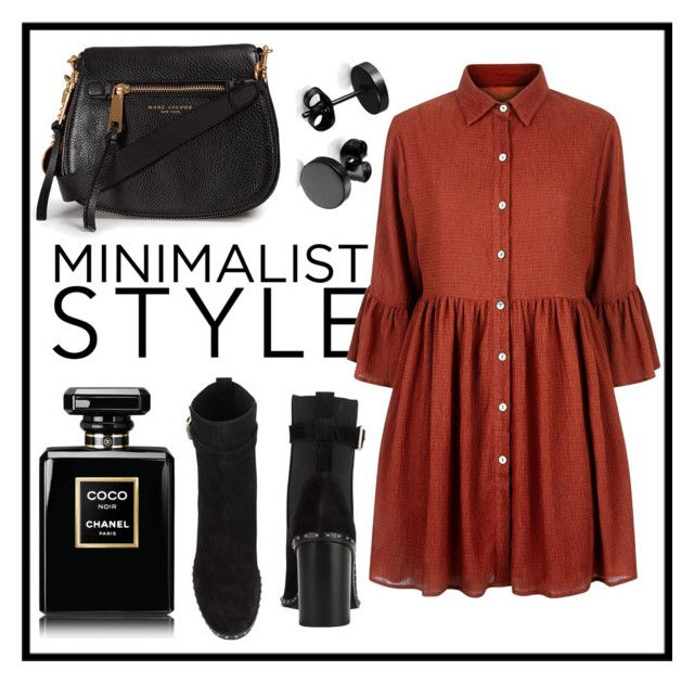"""Minimalistic"" by danickaroetz on Polyvore featuring Mela Loves London, rag & bone, Marc Jacobs and Chanel"