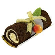 Set de regalo de toallas - Rollito de bizcocho