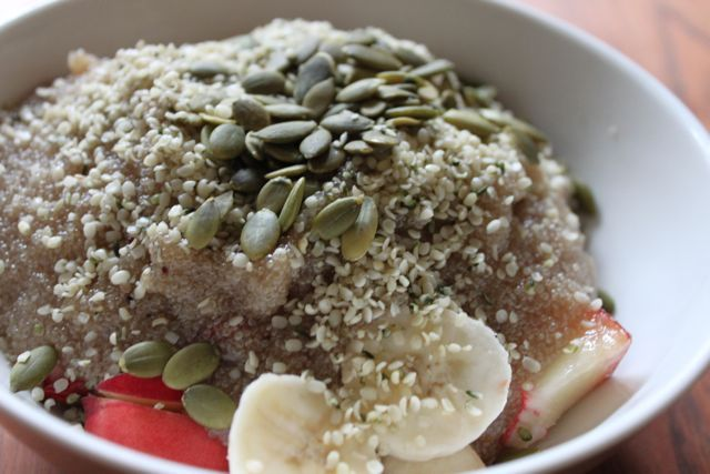 Blueberries 'N' Cream Amaranth Porridge Recipe — Dishmaps
