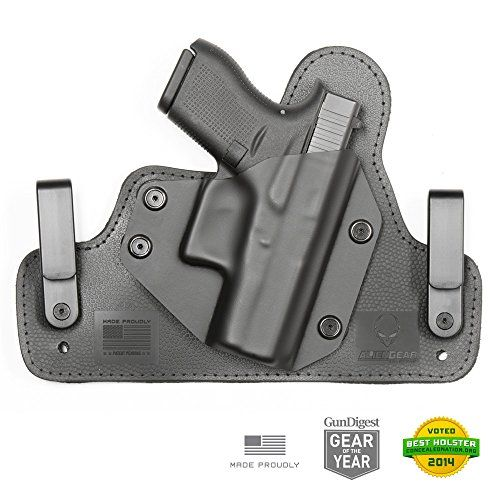 I just bought this and love it. Glock 42 Holster 3.0 Right Handed IWB Holster Black for Concealed Carry – Alien Gear Holsters . you can see what others said about it here http://bridgerguide.com/glock-42-holster-3-0-right-handed-iwb-holster-black-for-concealed-carry-alien-gear-holsters/