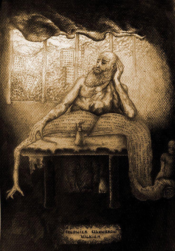 """""""Człowiek człowiekowi wilkiem"""", 2013. Chojnice"""