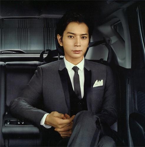 "Jun Matsumoto (Japanese idol, ARASHI). Nissan car Bland ""NOTE MEDALIST""."