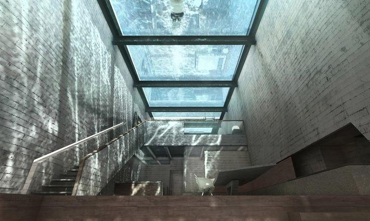 Image result for brutal transparent buildings