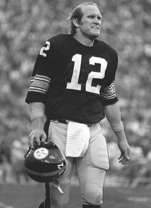 Terry Bradshaw - 14 NFL, 212 tds, 2,025 comp, 27,989 yds, 70.9 rtg