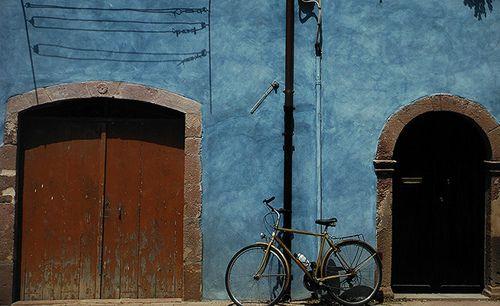 Colourful house of Bosa, Sardinia