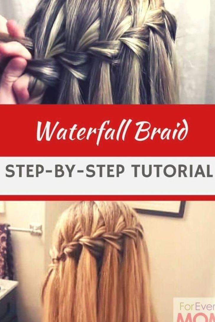16+ Wasserfall frisur einfache anleitung inspiration