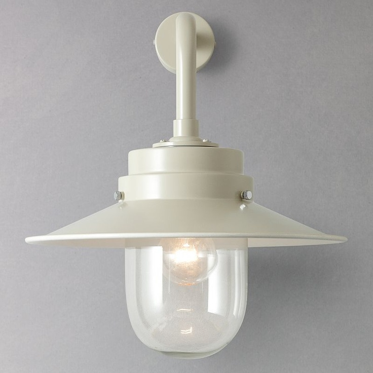 Garden Trading Outdoor Wall Lights : Buy Garden Trading Company Belfast Clay Wall Light, Indoor/Outdoor online at JohnLewis.com ...