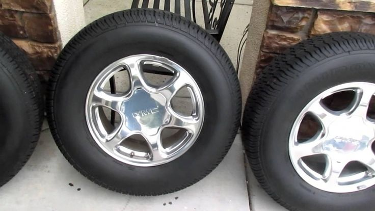 gmc rims and tires for sale