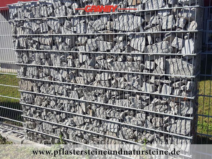 Firma B&M GRANITY - Frostbeständige Natursteine (Granit) aus Polen für Gabionen…