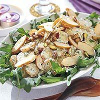 Recept - Aardappelsalade met gerookte kip en korianderdressing - Allerhande