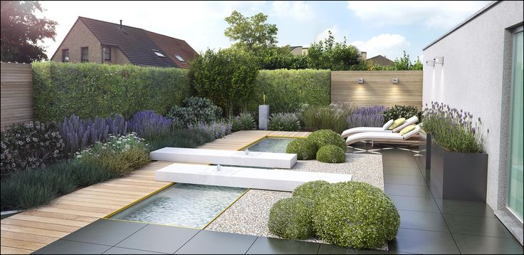 1000 images about timothy cools garden design 3d tuinontwerp garden on pinterest gardens - Tuin landscaping fotos ...