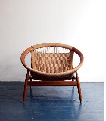 danish bowl chair.