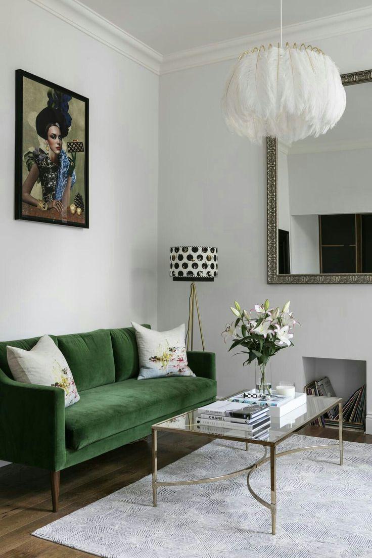 wohnen design blogs grne sofas apartments mit einem schlafzimmer kleine wohnungen leben auf kleinem raum kleine rume innenarchitektur portfolios - Modernes Wohnzimmer Des Innenarchitekturlebensraums