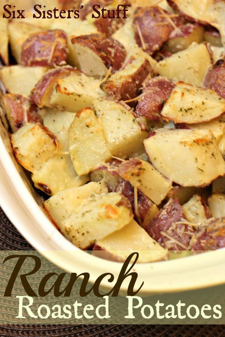 Six Sisters' Stuff: Ranch Roasted Potatoes
