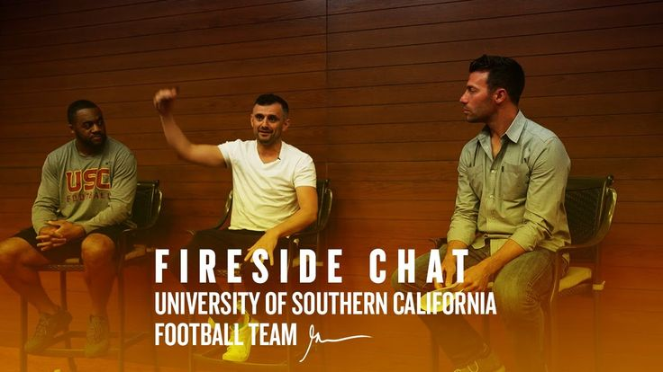 Fireside Chat with University of Southern California Football Team | Gar...