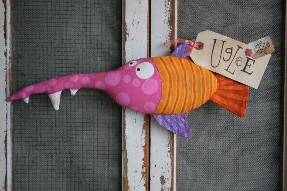 Here Fishy Fishy ... Spencer by buttuglee on Etsy